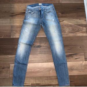 Hudson skinny jeans size 26